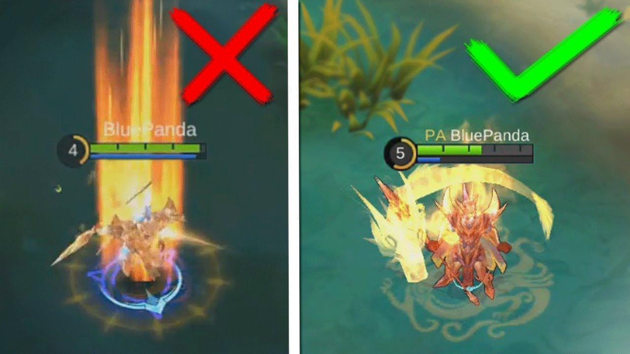 Dragon Knight Zilong NEW Skill Effects vs OLD Yun Zhao