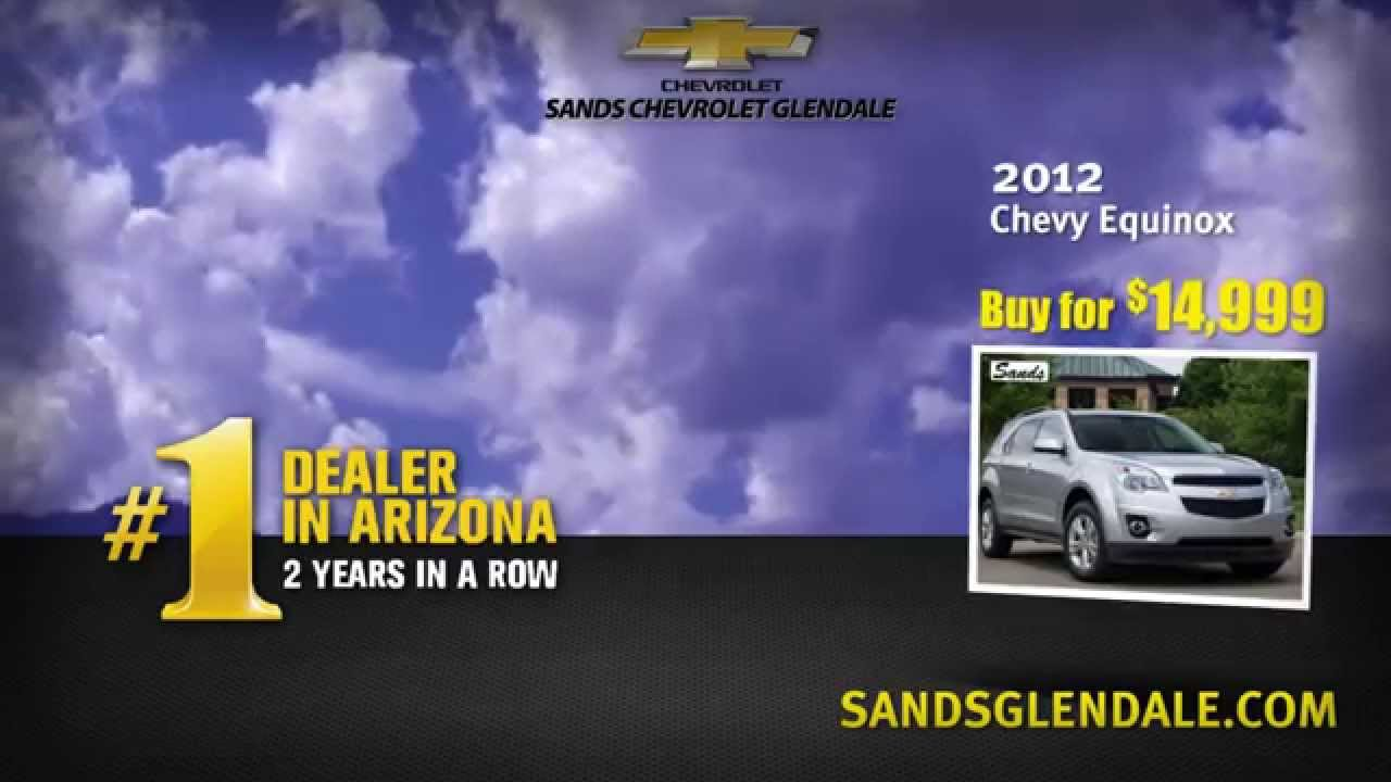 Sands Chevrolet Glendale Pre Owned Specials January 2015   USD