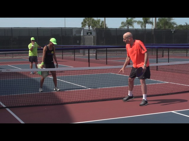 Pickleball Tutor Tips: How to Put Your Opponent in Defense