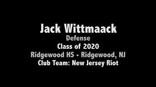 Jack Wittmaack - 2016 Fall Invitational DE 2016 - TEAM