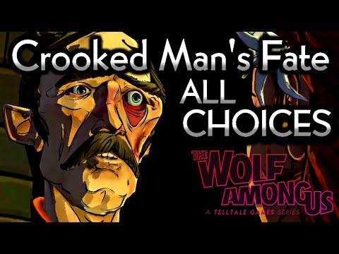 The Wolf Among Us - Crooked Man's Fate (All Choices) - Episode 5 Cry Wolf ¦ Season 1