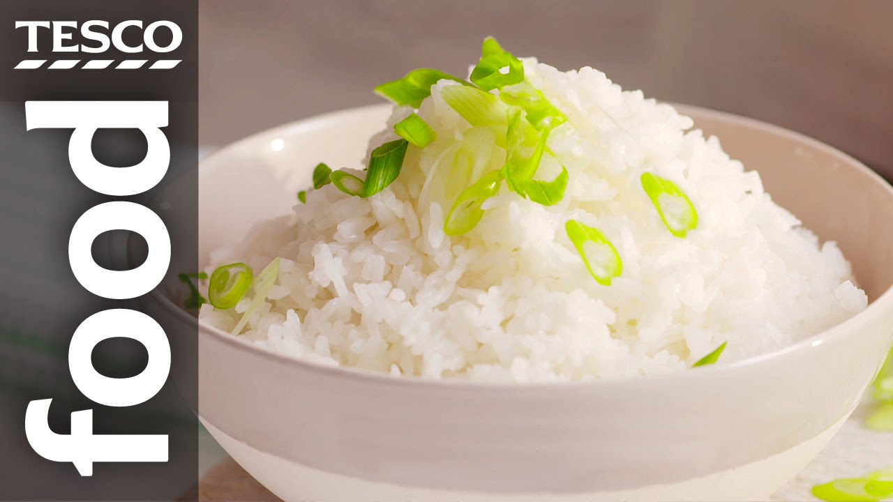 How To Cook Steamed Rice  Tesco Food