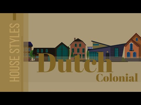 Dutch Colonial Style Architecture