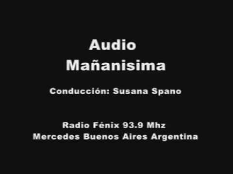 "Emisión del 25 de agosto ""Mañanisima"" Radio Fénix Mercedes Buenos Aires Argentina"