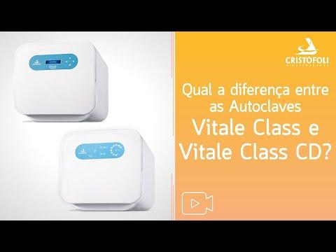 Qual a diferença entre as Autoclaves Vitale Class e Vitale Class CD?