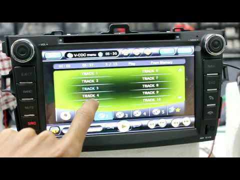 Toyota Corolla Altis Hanns OE Fit Multimedia Receiver.mov