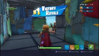 Fortnite Battle royale VICTORY ROYALE in Food Fight