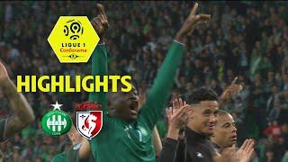 As saint-etienne - losc ( 5-0 ) - highlights - (asse - losc) / 2017-18
