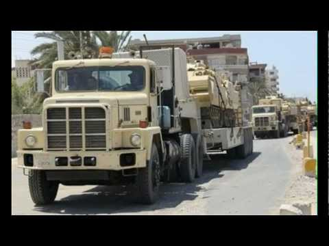 Egypt Troops Move Into Israel Border
