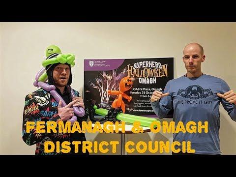 Fermanagh & Omagh District Council's Superhero Halloween