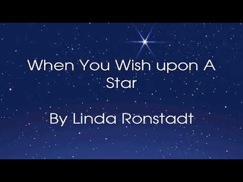 When You Wish Upon A Star By Linda Ronstadt Lyrics