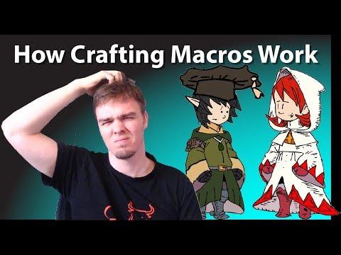 FFXIV Stormblood Crafting Macros [Guide Series Part 2]