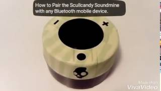 How to Pair Scullcandy Soundmine Bluetooth Speaker.