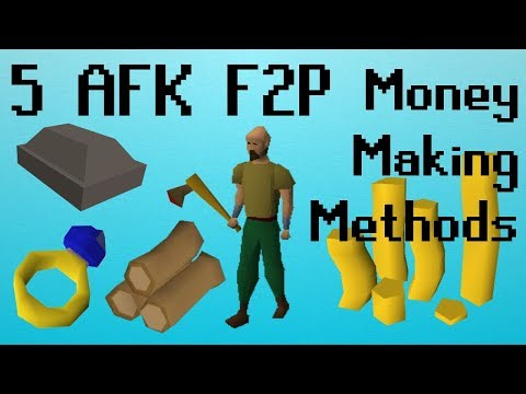 [OSRS] 5 AFK F2P Low Requirement Money Making Methods