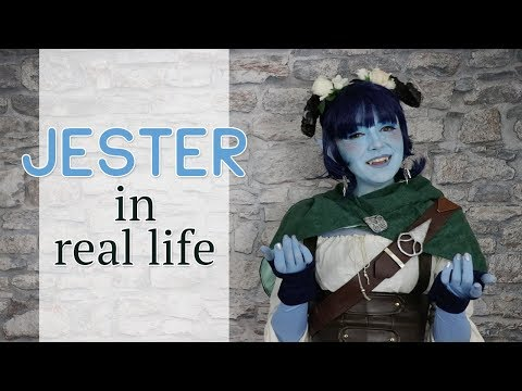 Jester in Real Life — Critical Role Cosplay