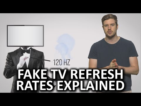 Fake TV Refresh Rates As Fast As Possible