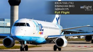 Flybe Full Flight | Berlin to Birmingham | Embraer E175