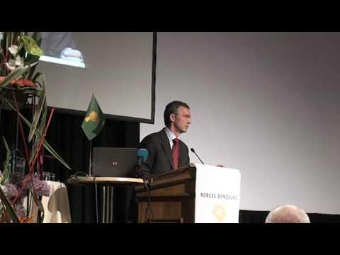 Jens Stoltenberg på årsmøtet til Norges Bondelag