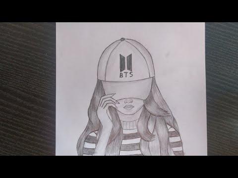 CHIROYLI QIZ RASMINI CHIZISH . Нарисуйте красивую девушку.draw a picture of a beautiful girl
