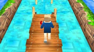 Minecraft Endless Runner // Gameplay