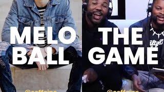 "INSTAGRAM LIVE: The Game vs Lamelo Ball BTS of ""GameTime"""