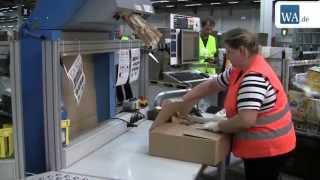 Standortleiter stellt Amazon-Logistikzentrum in Werne vor