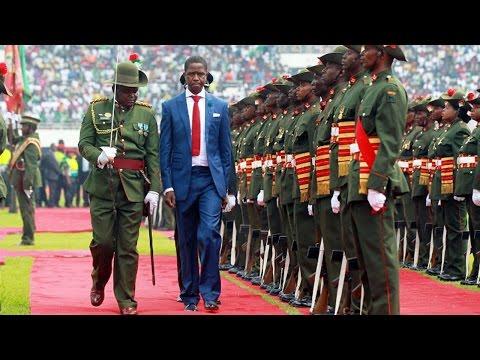 President Edgar Lungu's inauguration ceremony, 25 January 2015