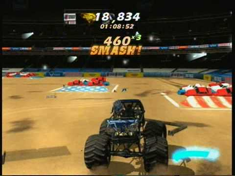 monster truck games freestyle