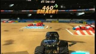 Monster Jam The Video Game - freestyle - xbox 360