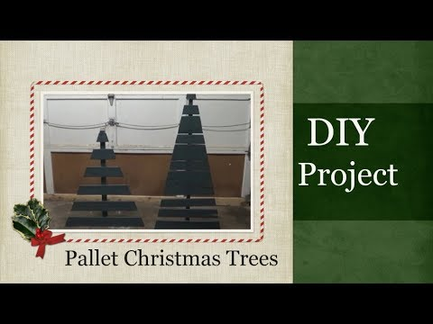 How to make a Pallet Christmas Tree