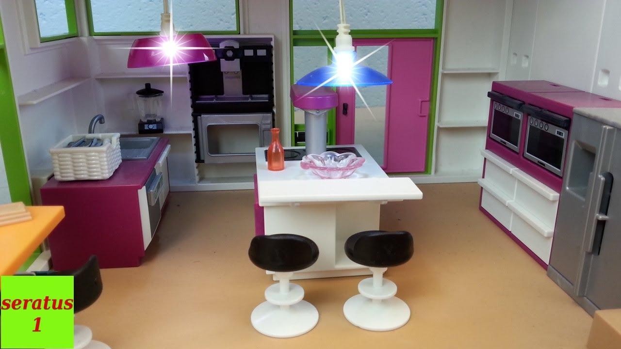 beleuchtung f r die playmobil luxusvilla 6354 auspacken seratus1 youtube. Black Bedroom Furniture Sets. Home Design Ideas