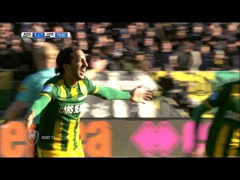 Nagenieten van de 4 goals tegen Heracles Almelo