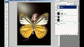 Уроки фотошопа -- Коллаж «Муза»