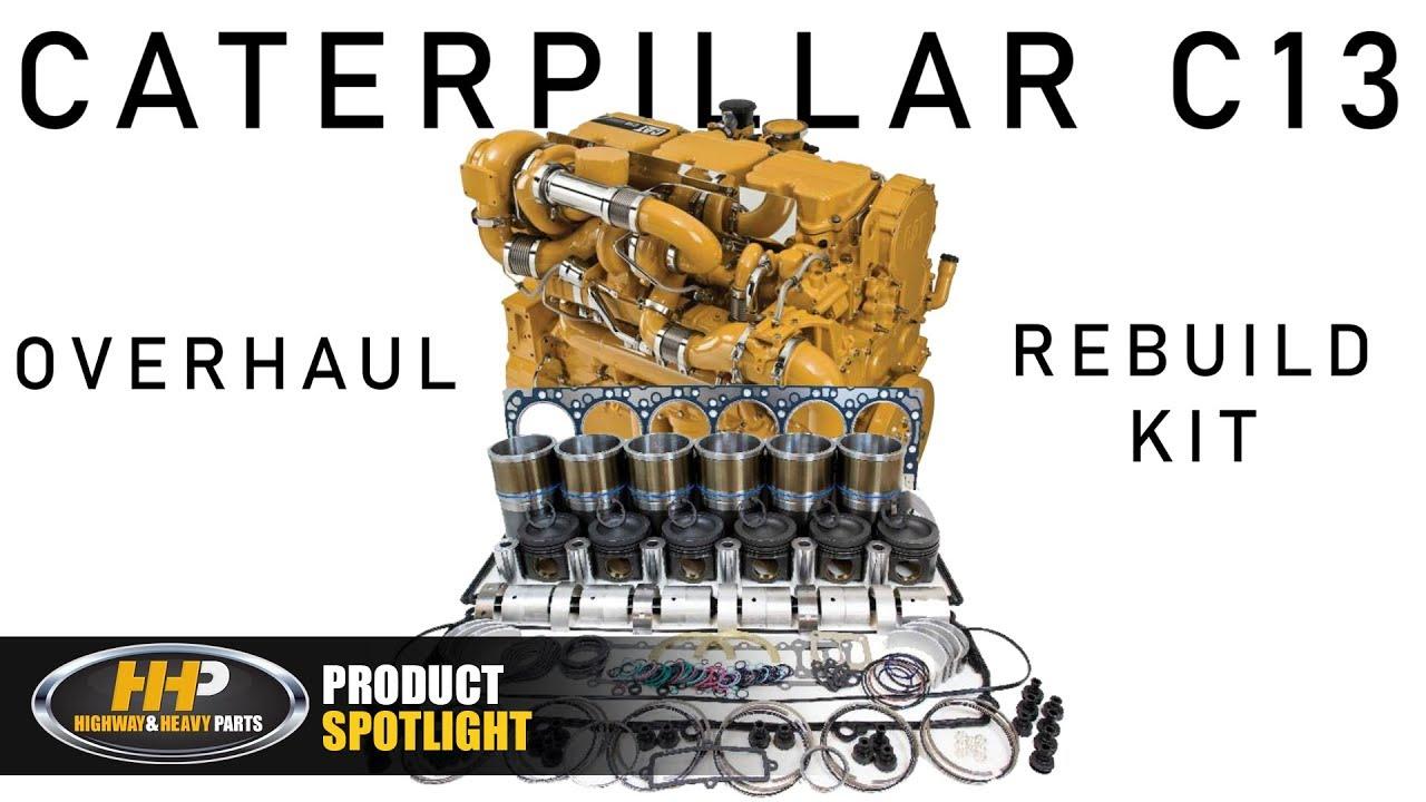 HHP Spotlight: About the CAT C13 Diesel Engine Rebuild Kit