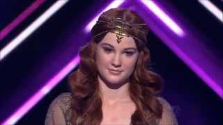 Bella Ferraro: Ray Of Light - The X Factor Australia 2012 - Live Show 4, TOP 9