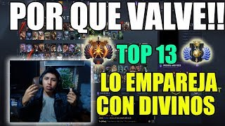 VanN TOP 13 ABUSA DE DIVINOS CON SU ANTI MAGE!!  20 MIN EZ RANKED DOTA 2 