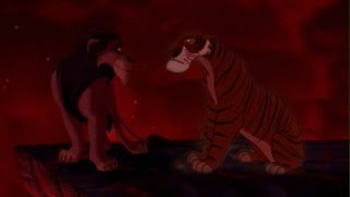 Disney Villains: The Series - 1x01 Shere Khan vs. Scar - The Mighty Fall (Crossover)