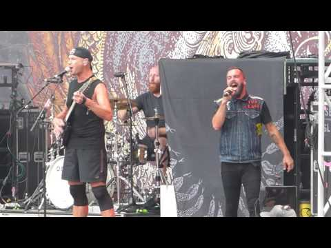 """""""Hate By Design"""" Killswitch Engage@Chester, PA Rock Allegiance Festival 9/18/16"""