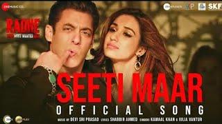 Salman Khan - Seeti Maar Seeti Maar - Disha Patani - New Video Song 2021, Hindustani Music