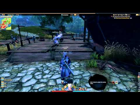 Swordsman Online Gameplay English Epic Level 14 - 22 Wu Tang