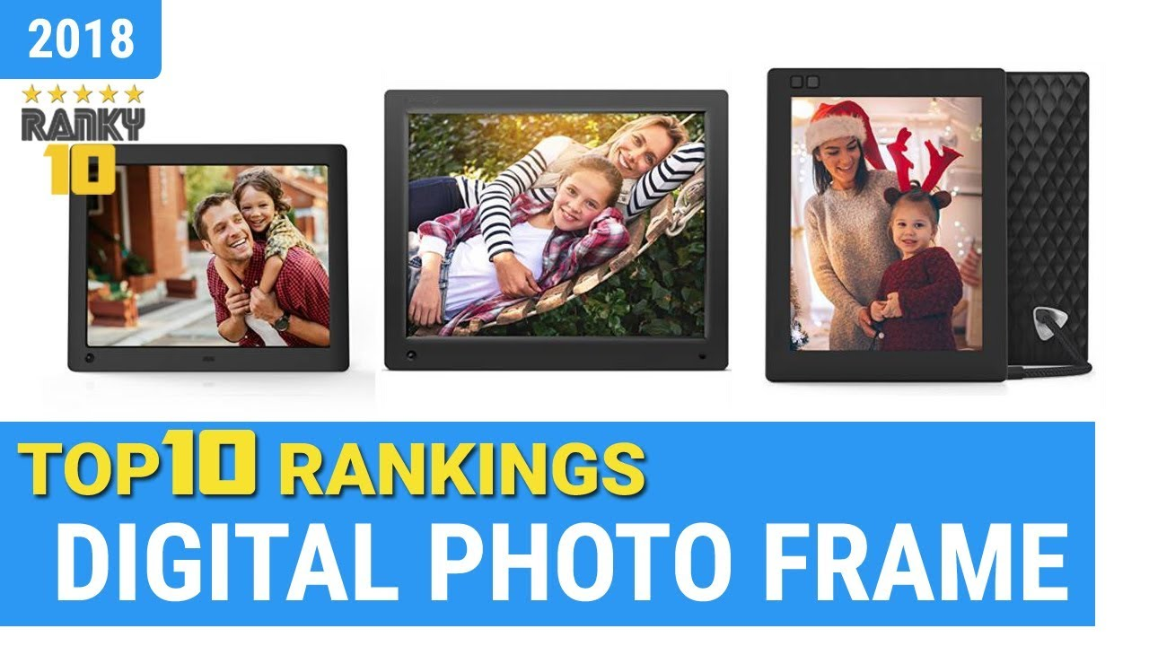 Best Digital Photo Frame Top 10 Rankings, Review 2018 & Buying Guide ...