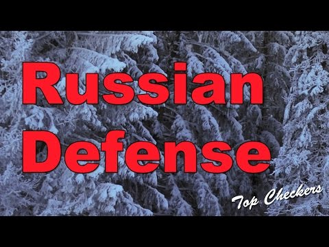 Checkers - Russian defense