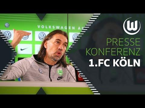 """""""Kölner werden um alles kämpfen""""   Pressekonferenz   1. FC Köln - VfL Wolfsburg"""