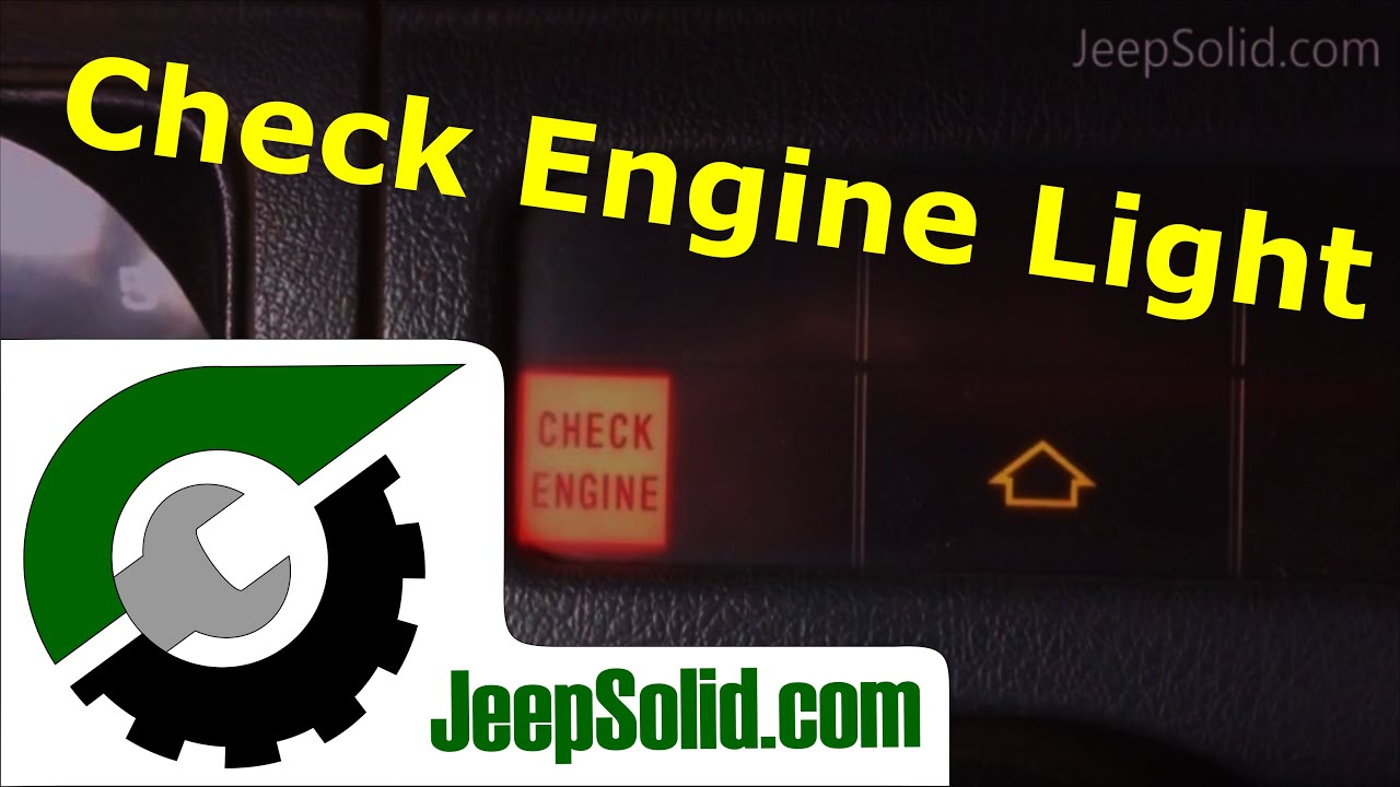 Check Engine Light Jeep Wrangler  Jeep Wrangler Yj Check