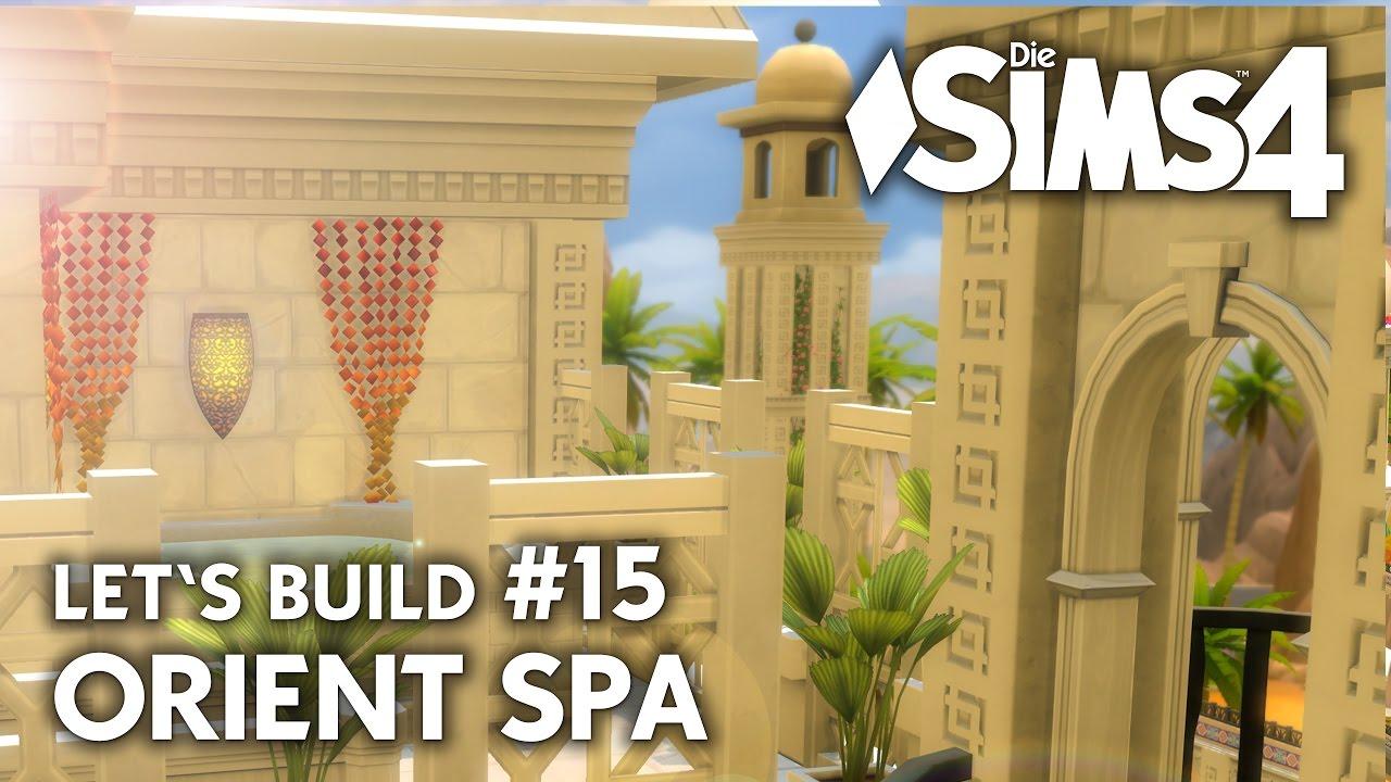 Whirlpool dach massage die sims 4 orient spa 15 bauen for Sims 4 dach bauen