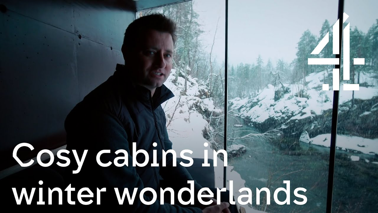 Download George Clarke's Amazing Spaces | These cosy cabins are giving us winter wonderland wanderlust