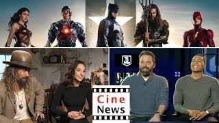 Justice League: Ben Affleck, Gal Gadot, Jason Momoa & Ray Fisher