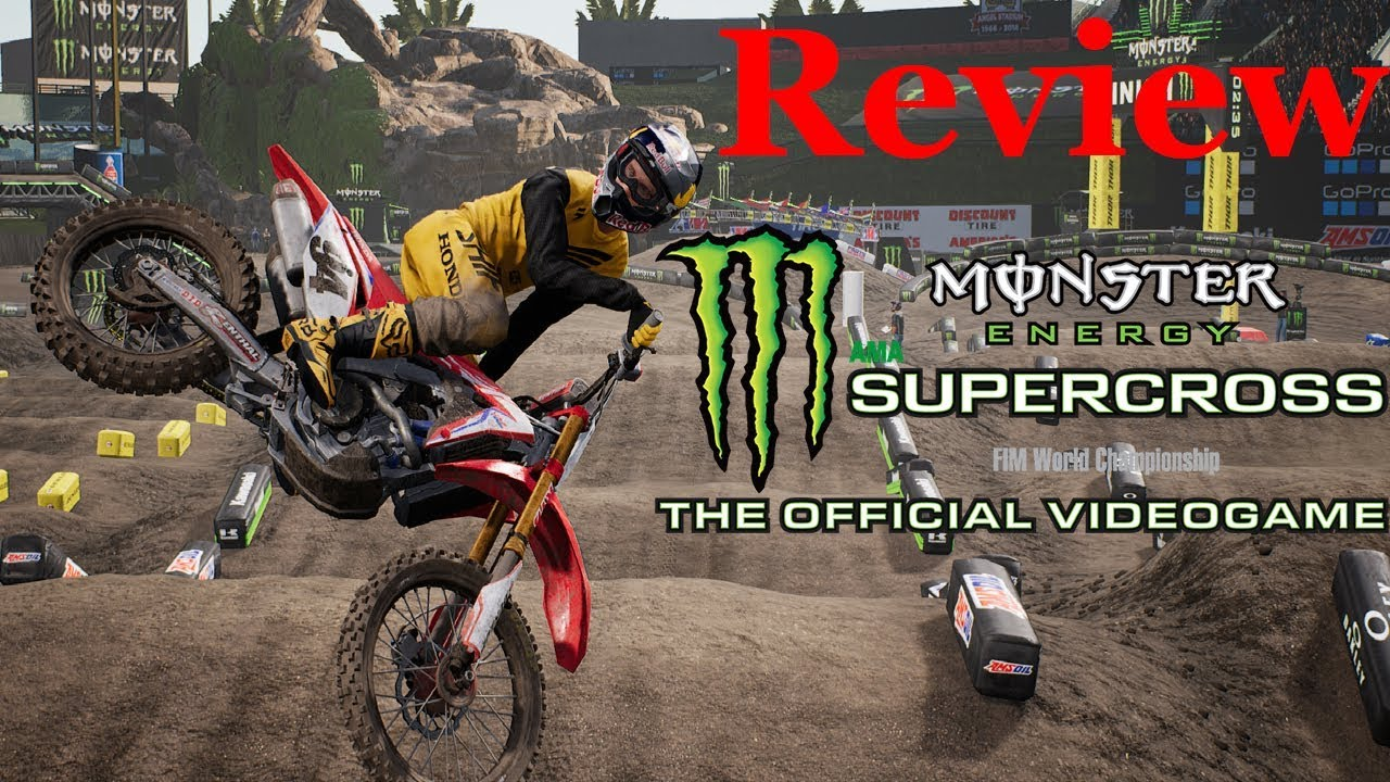 monster energy supercross the game full review youtube. Black Bedroom Furniture Sets. Home Design Ideas