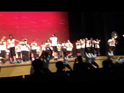 Charles Herbert Flowers Marching Band at 2012 Spring Concert
