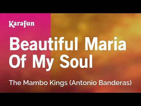 Karaoke Beautiful Maria Of My Soul - The Mambo Kings *
